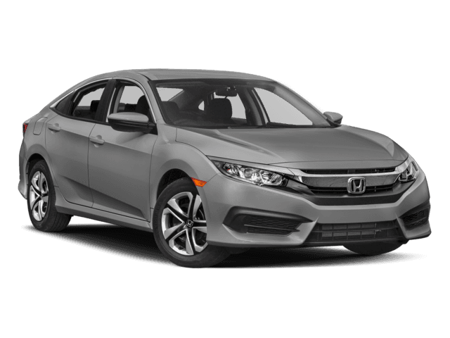 New 2017 Honda Civic Sedan LX FWD 4dr Car