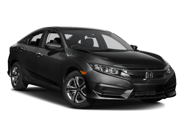New Honda Civic 4dr CVT LX